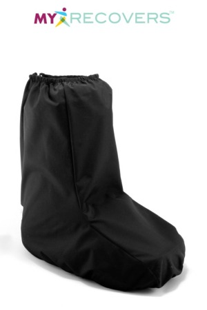 LOW TOP WEATHERPROOF WALKING BOOT COVER - BLACK