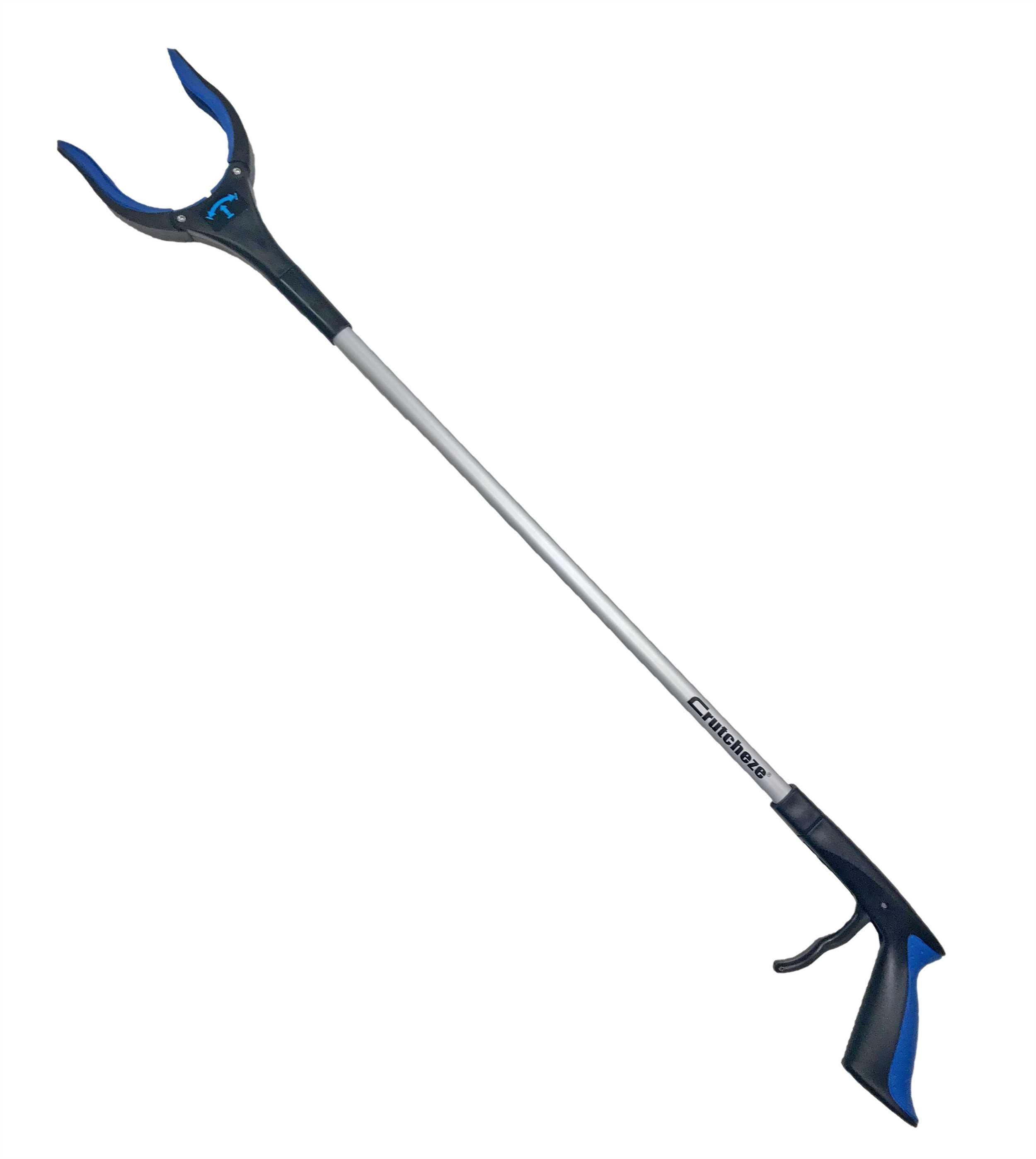 "CRUTCHEZE 32"" REACHER GRABBER - ROYAL BLUE"