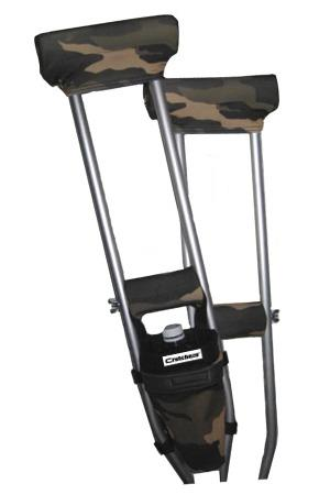 COMBO DEAL - CAMO PADDED CRUTCH COVERS & BAG SET