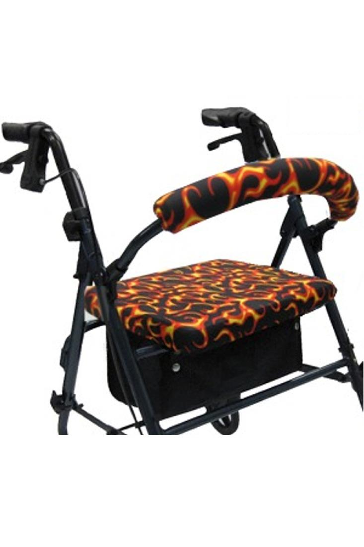 ROLLATOR WALKER COVERS - FLAMES