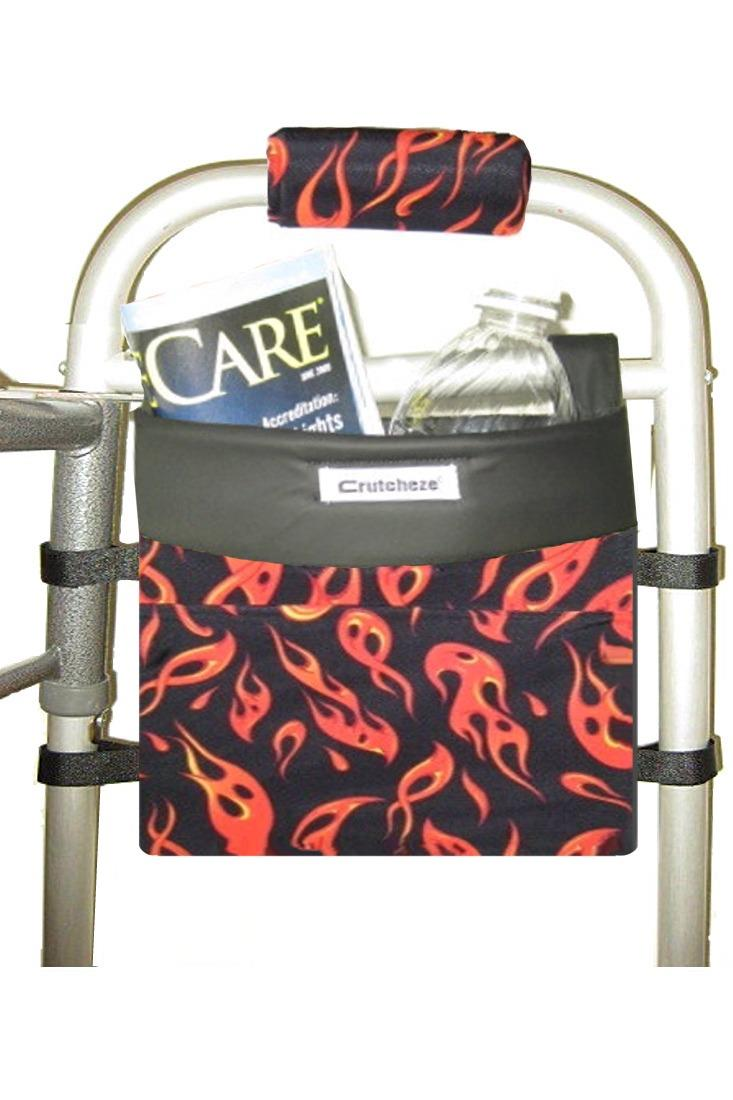 WALKER SIDE BAG - FLAMES (ea)