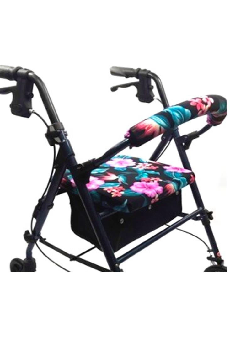 ROLLATOR WALKER COVERS - HAWAIIAN BOUQUET