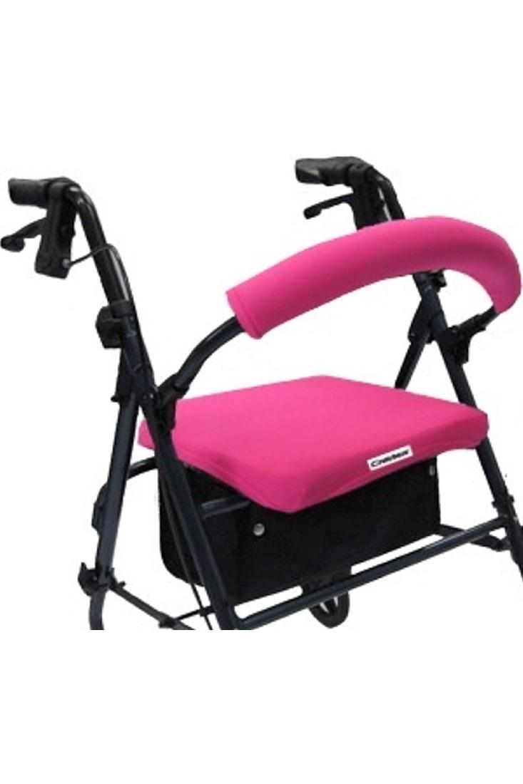 ROLLATOR WALKER COVERS - HOT PINK