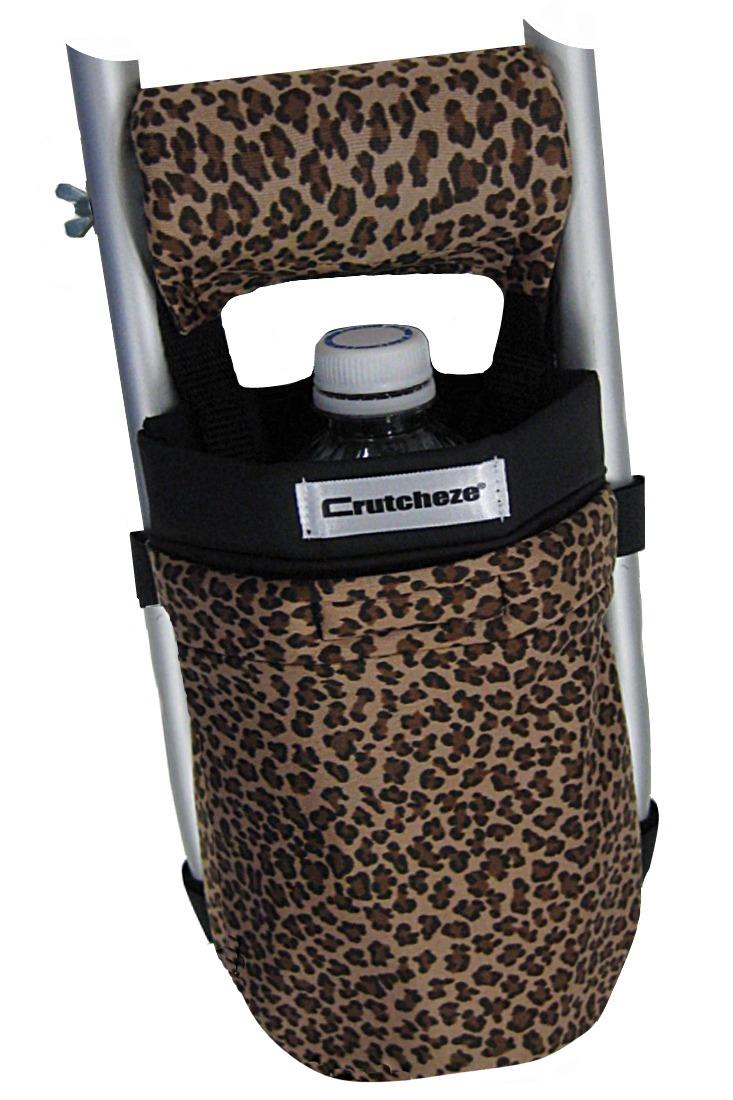 CRUTCH BAG - CLEARANCE LEOPARD