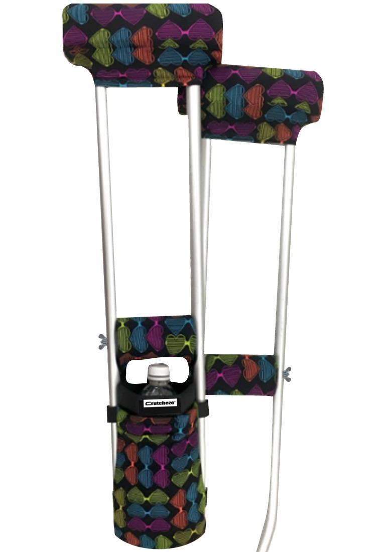 COMBO DEAL - LOVE IT PADDED CRUTCH COVERS & BAG SET