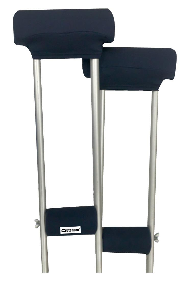 CLEARANCE CRUTCH PADDED COVERS - NAVY BLUE