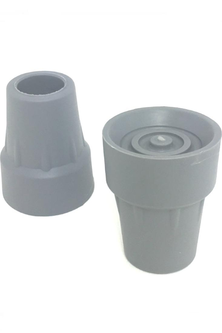 NOVA UNDERARM CRUTCH TIPS (Pr.) GRAY