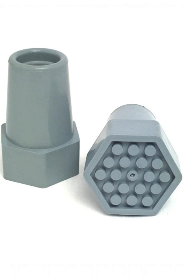 NOVA FOREARM CRUTCH TIPS (Pr.) GRAY