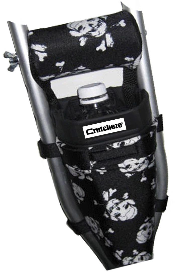 CRUTCH BAG - PIRATE FLAG SKULLS (ea)