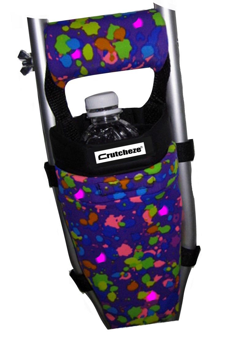 CRUTCH BAG - PURPLE SPLATTER - (ea)