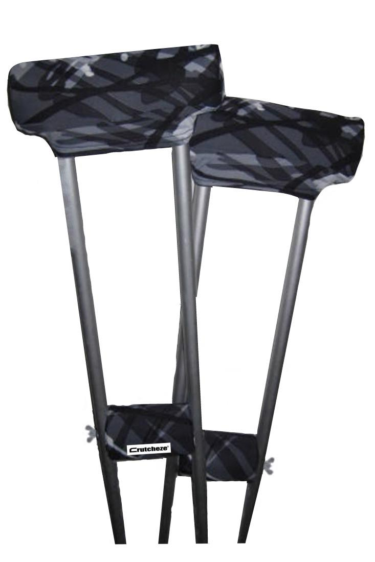CRUTCH PADDED COVERS - RAD PLAID