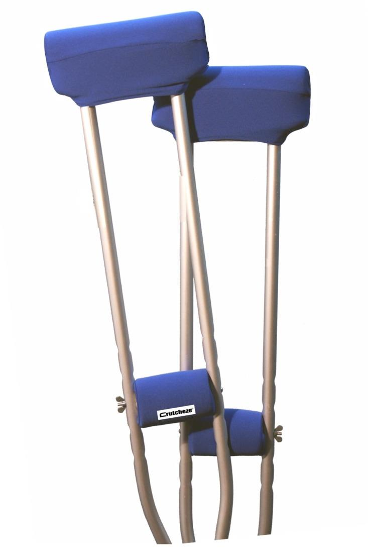 CRUTCH PADDED COVERS - ROYAL BLUE