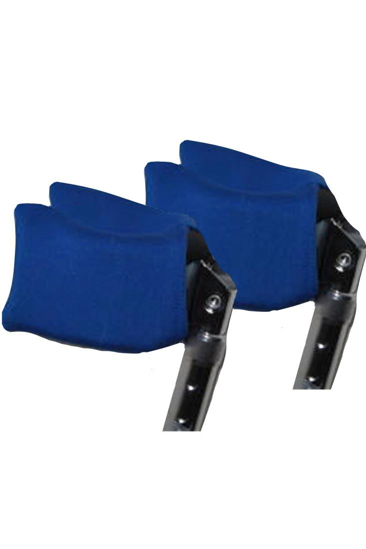 FOREARM CRUTCH PADS - ROYAL BLUE