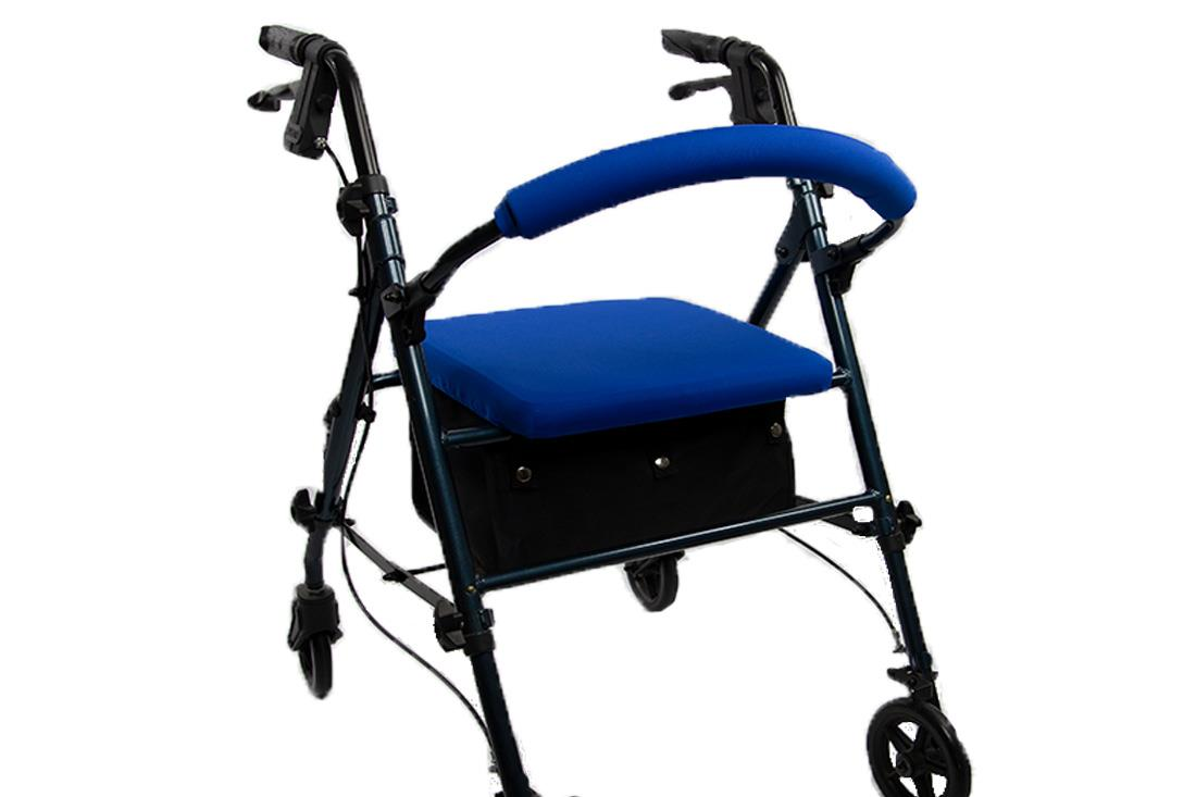 ROLLATOR WALKER COVERS - ROYAL BLUE