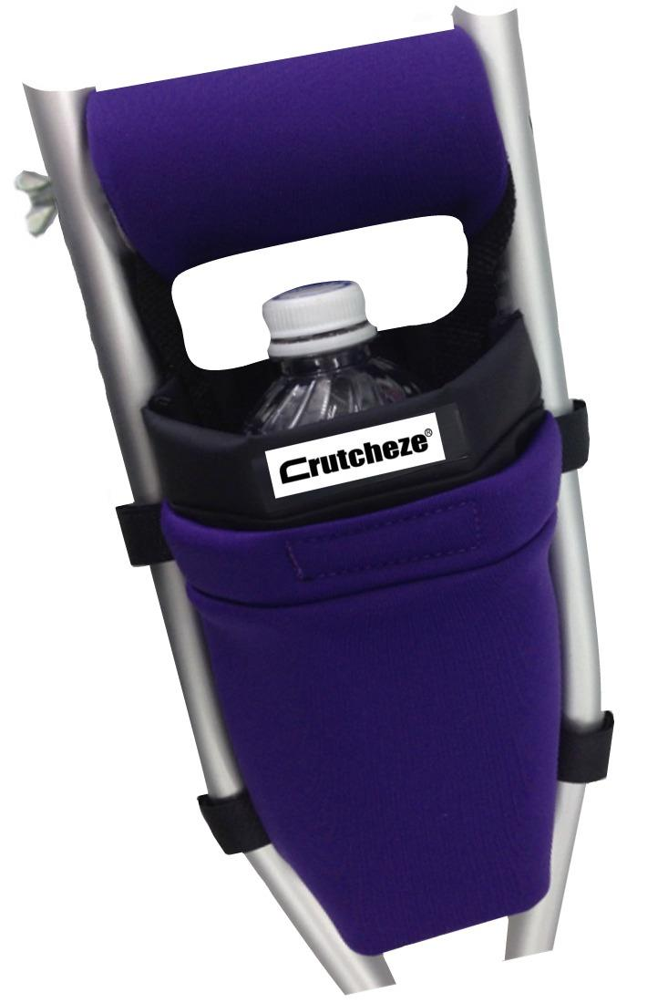 CLEARANCE CRUTCH BAG - PURPLE (ea)
