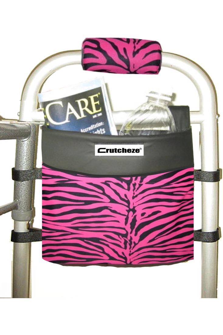 WALKER SIDE BAG - PINK ZEBRA (ea)