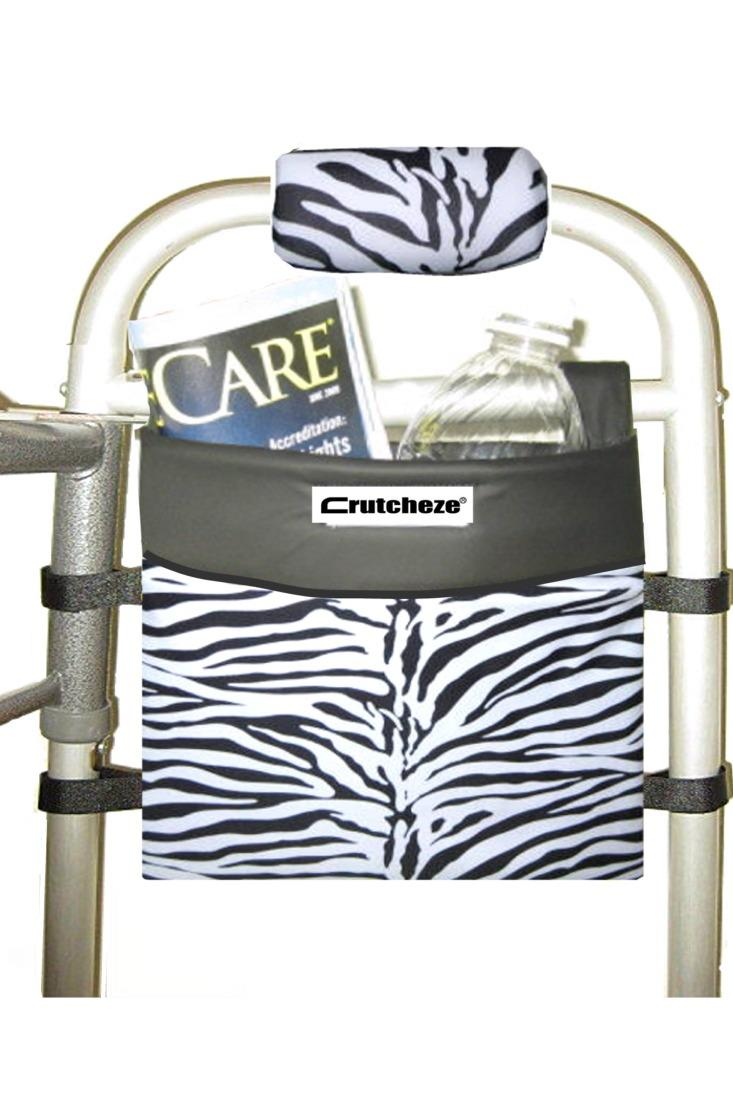 WALKER SIDE BAG - ZEBRA (ea)