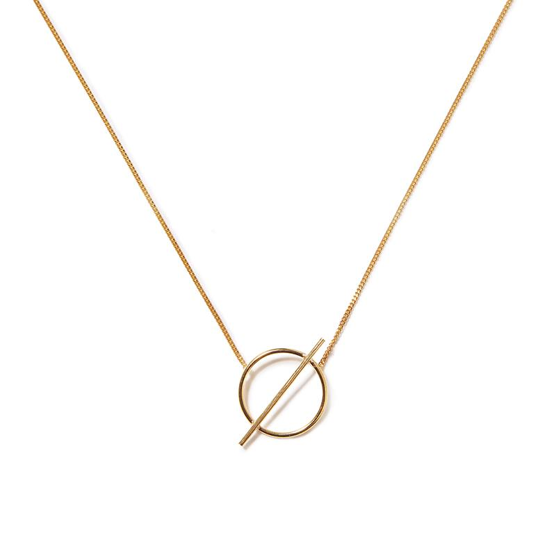 The Gold Luna Necklace