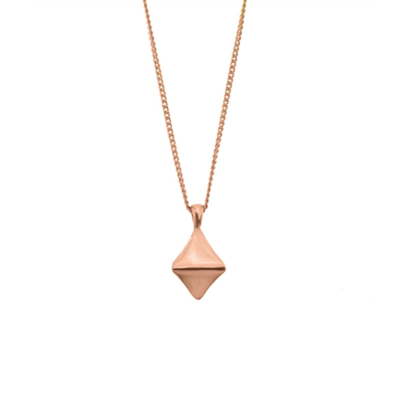 The Rose Gold Diamond Necklace
