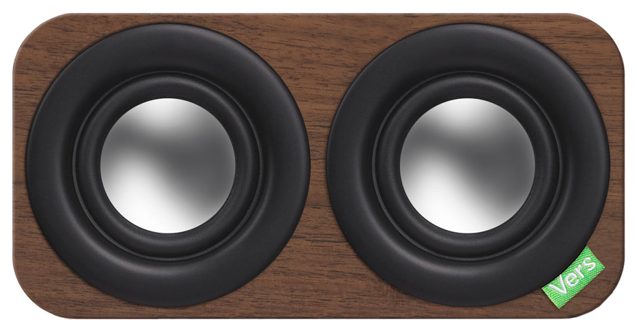 2Q Wireless Sound System (Walnut)