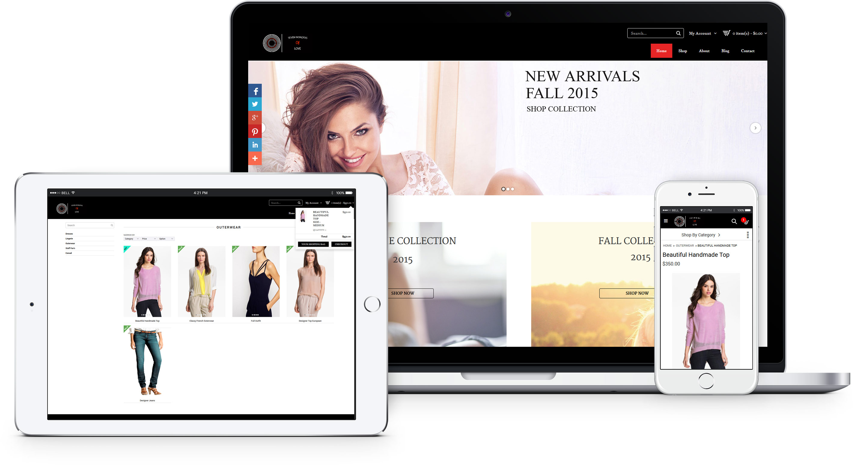 Beautiful Ecommerce Stores